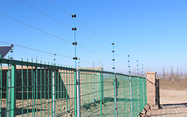 南通发电站脉冲电子围栏安装