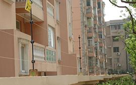 南通锦秀家园小区电子围栏安装