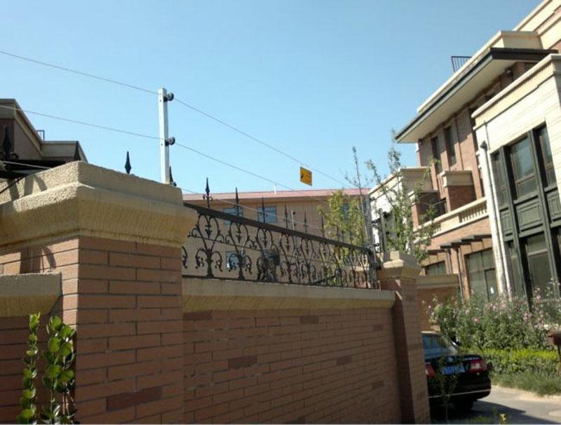 南通小区电子围栏安装