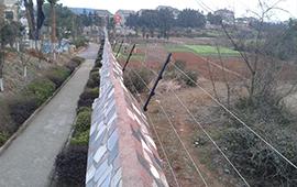 南通别墅电子围栏系统安装工程