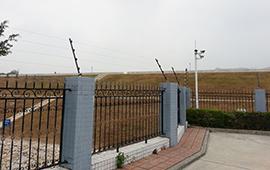 如东龙翔化工脉冲电子围栏安装