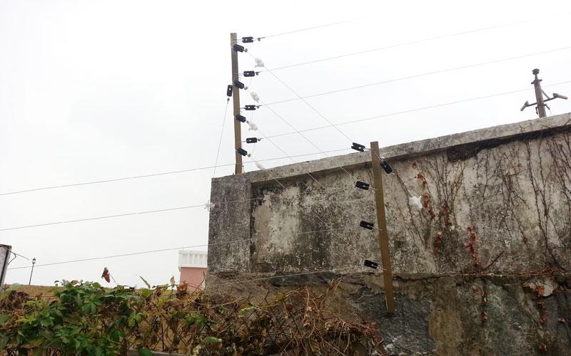 如东电子围栏安装