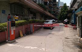 如东水韵华城小区停车场管理系统