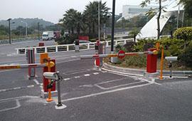 如皋汇隆科技园停车场管理系统